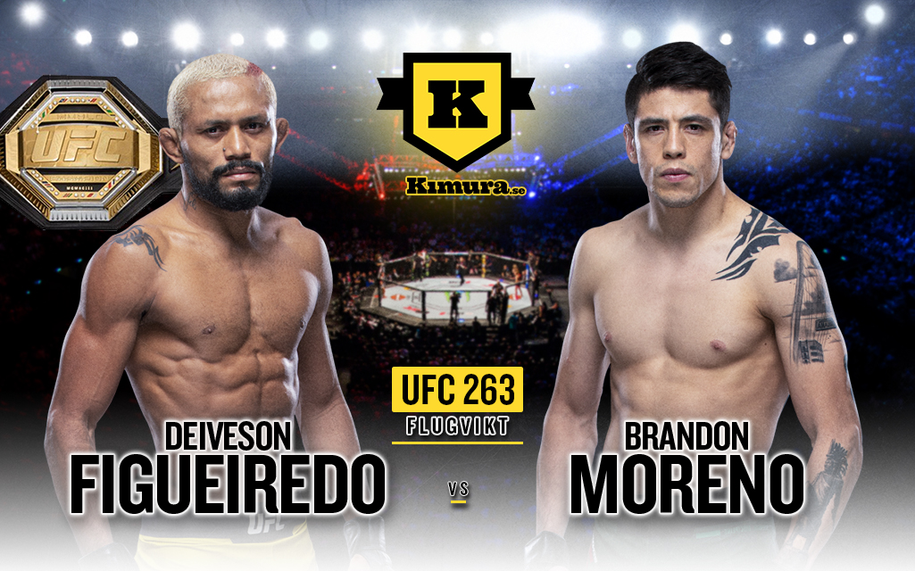 Deiveson Figueiredo och Brandon Moreno