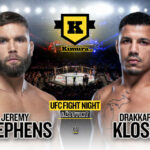Jeremy Stephens vs. Drakkar Klose till den 17 april