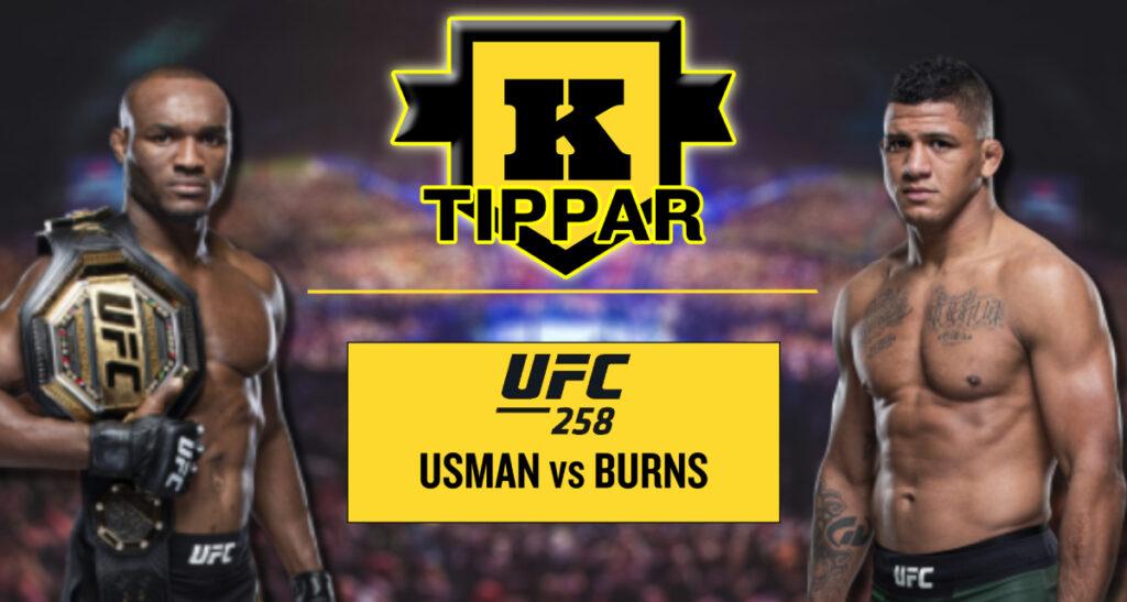 Kimura tippar Kamaru Usman vs Gilbert Burns UFC 258