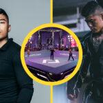 Samuel Ericsson i Karate Combat gi