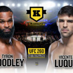 Tyron Woodley vs. Vicente Luque, UFC 260