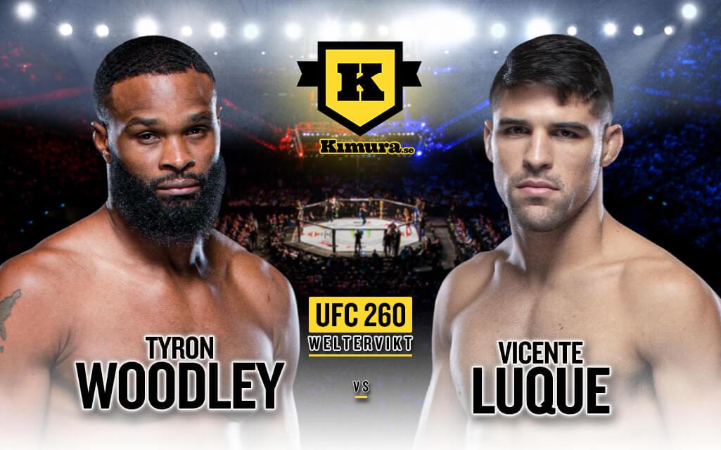 Tyron Woodley vs. Vicente Luque, UFC 260