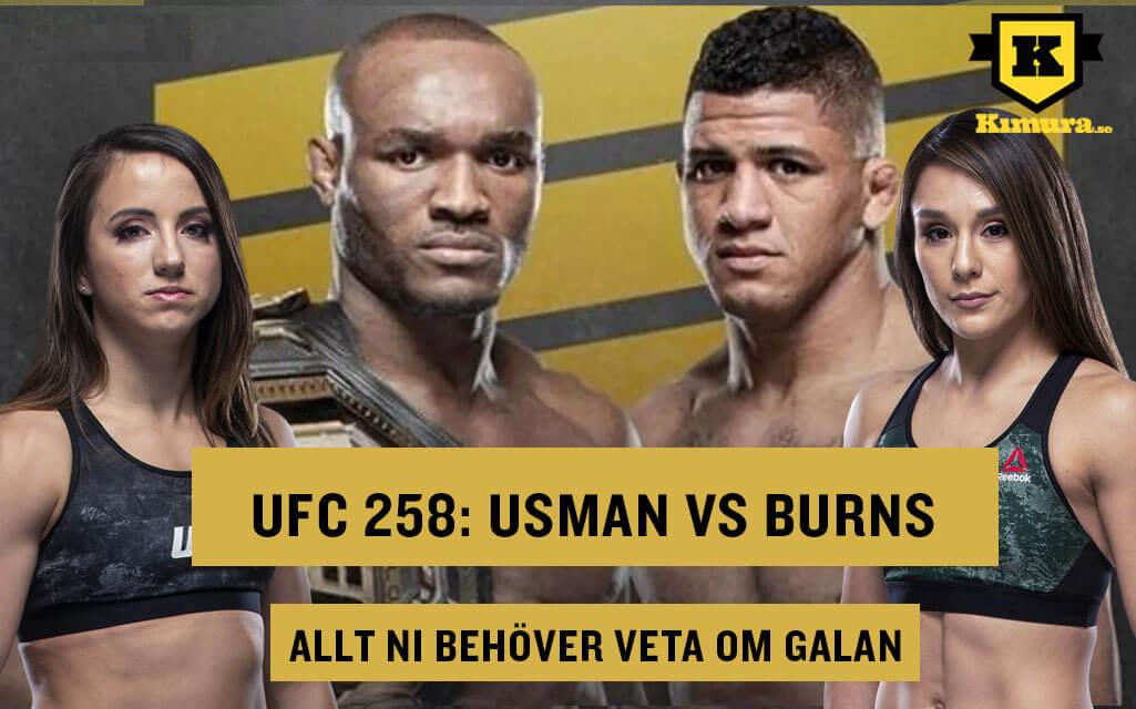 UFC 258 Allt ni behöver veta