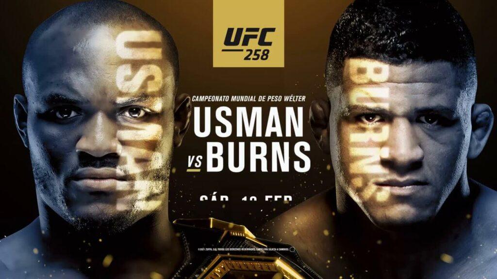 Postern för UFC 258