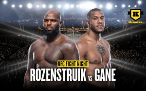 UFC Fight Night Rozentruik vs Gane Poster