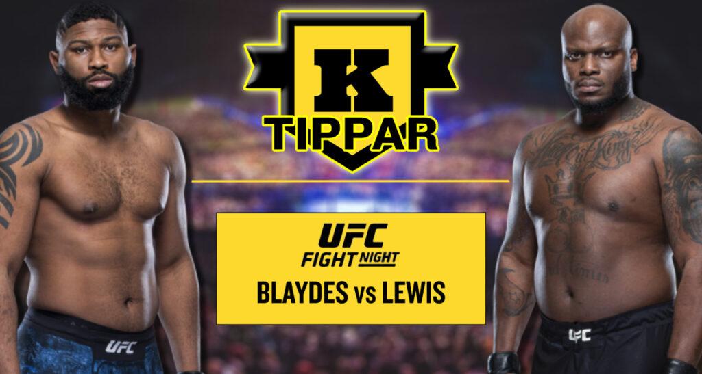 Kimura tippar Blaydes vs Lewis