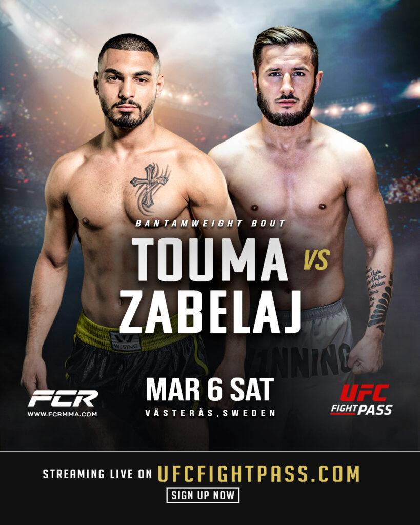 Ilaz Zabeli och Jonny Touma på poster för FCR 8