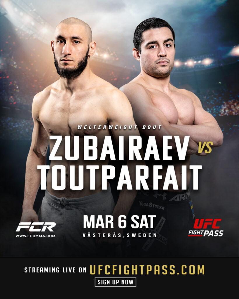 Alejandro Toutparfait Zelim Zubairaev FCR8 Poster