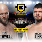 Ben Rothwell vs. Philipe Lins UFC Vegas 21