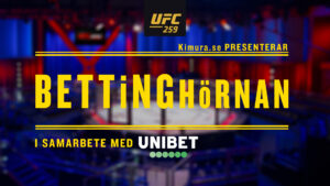 Bettinghörnan UFC 259
