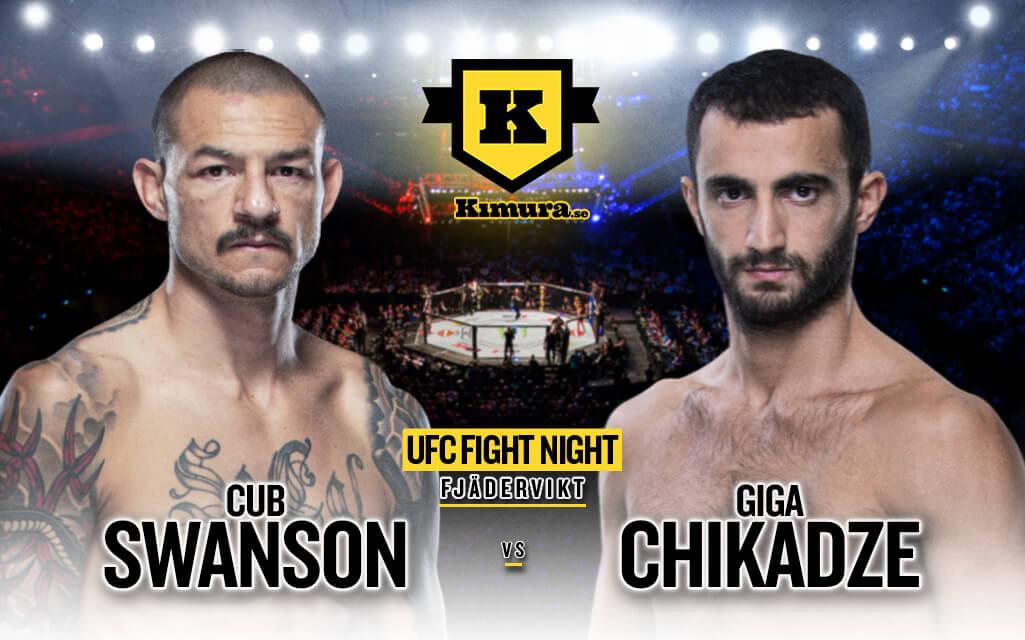 Cub Swanson vs. Giga Chikadze den 1 maj