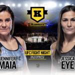 Jennifer Maia vs. Jessica Eye till den 10 juli