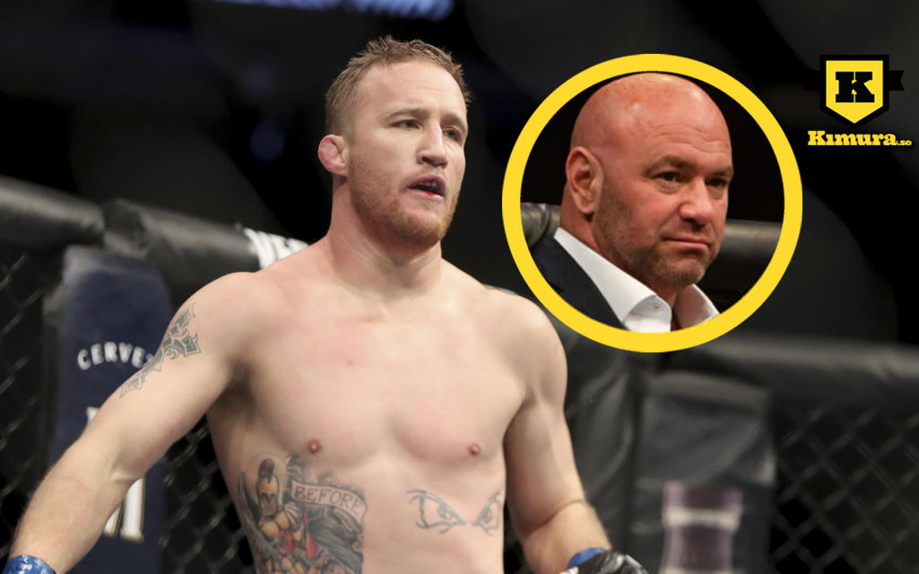 Justin Gaethje Dana White UFC