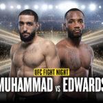 Leon Edwards vs Belal Muhammad UFC