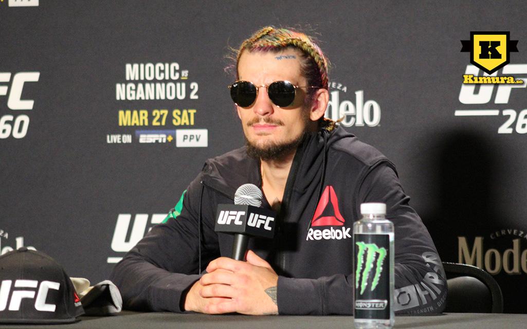 Sean O´Malley efter UFC 260