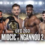 UFC 260 Allt om galan