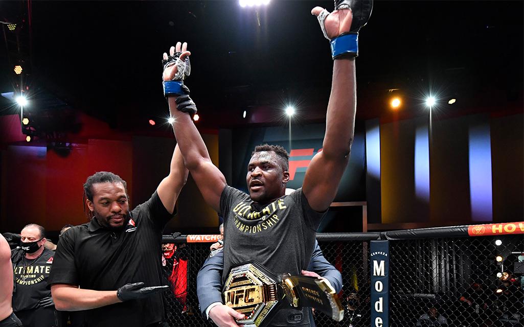 Francis Ngannou UFC 260