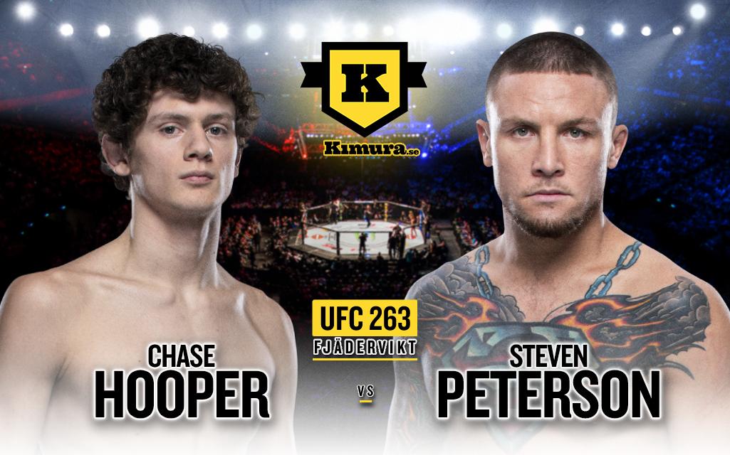 Chase Hooper vs. Steven Peterson till UFC 263