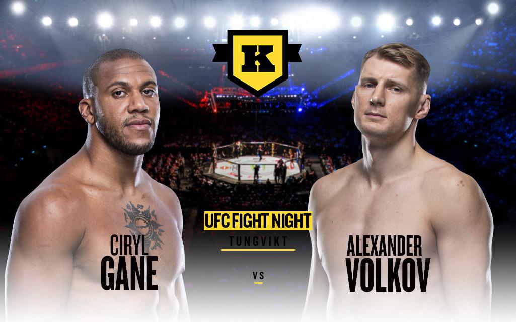 Ciryl Gane vs Alexander Volkov