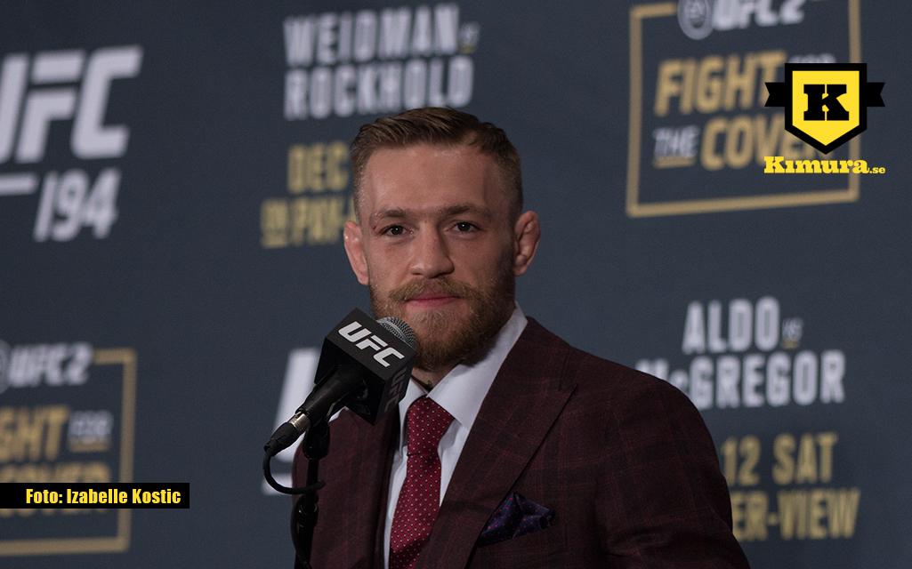 Conor McGregor inför UFC 194
