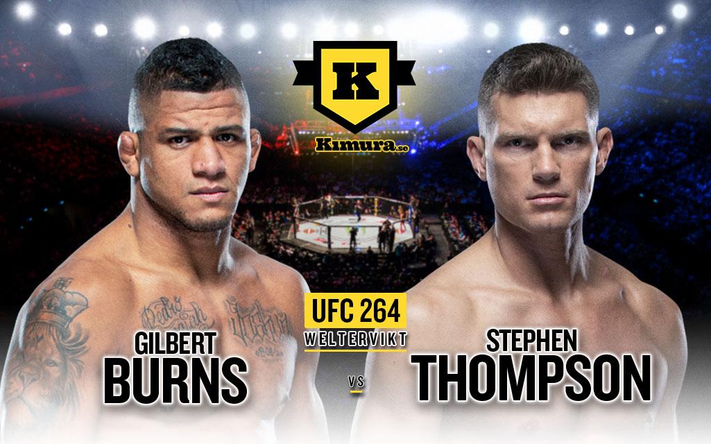 Gilbert Burns vs Stephen Thompson
