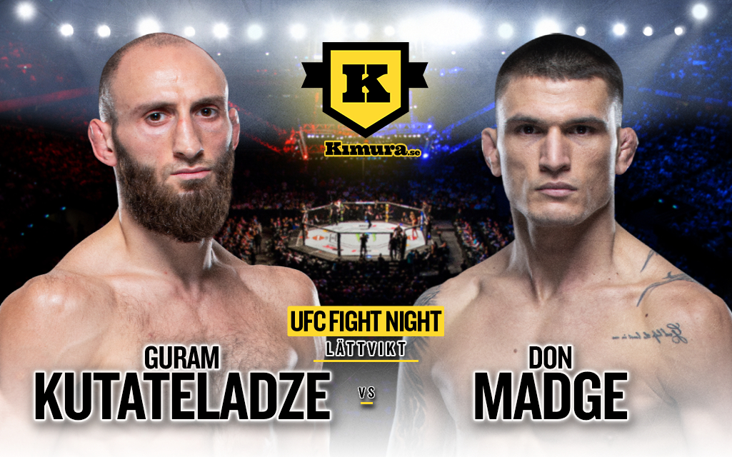 Guram Kutateladze vs. Don Madge till den 17 juli