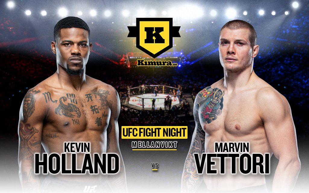 Kevin Holland vs Marvin Vettori