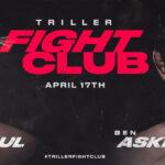 Postern för Jake Paul vs. Ben Askren i boxning