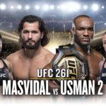 UFC 261 allt om galan