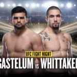 Robert Whittaker vs Kelvin Gastelum UFC