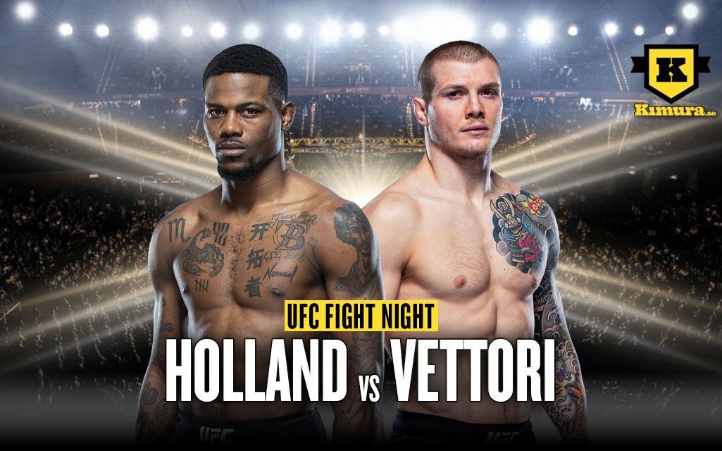 UFC Vegas Marvin Vettori vs Kevin Holland