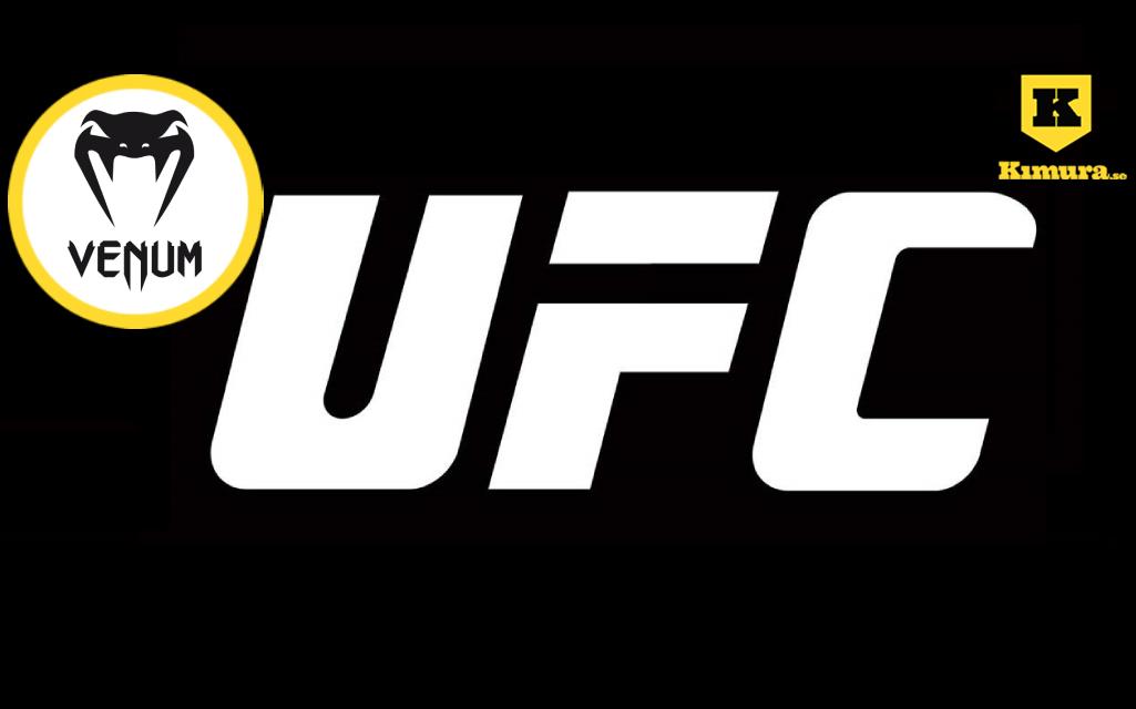 UFC-logga med Venum-logga i cirkel