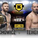 Blachowicz vs Teixeira UFC266