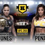 Amanda Nunes vs Julianna Pena