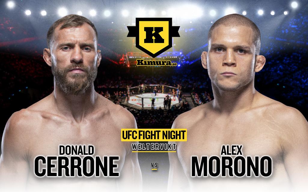Donald Cerrone vs. Alex Morono för UFC Vegas 26