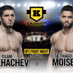Islam Makhachev vs Thiago Moises UFC