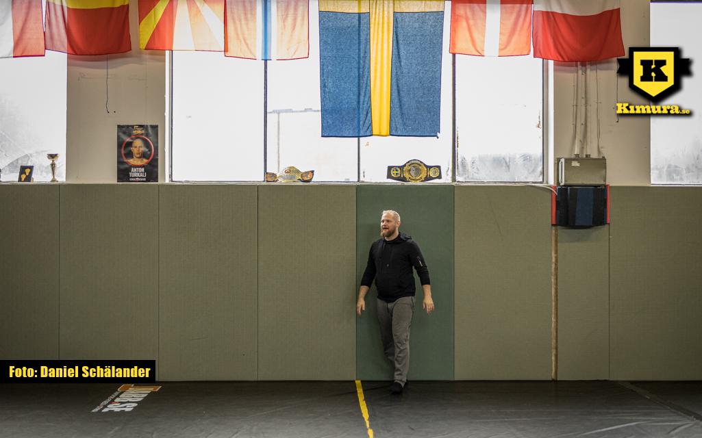 Joakim Engberg på GBG MMA