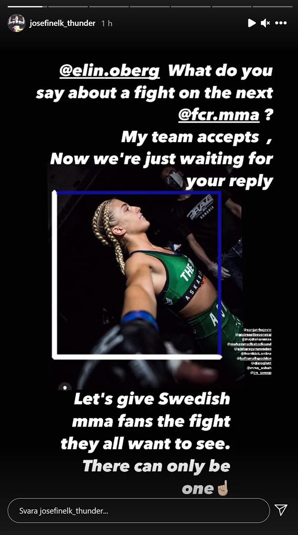 Josefine Lindgrens utmaning via instagram