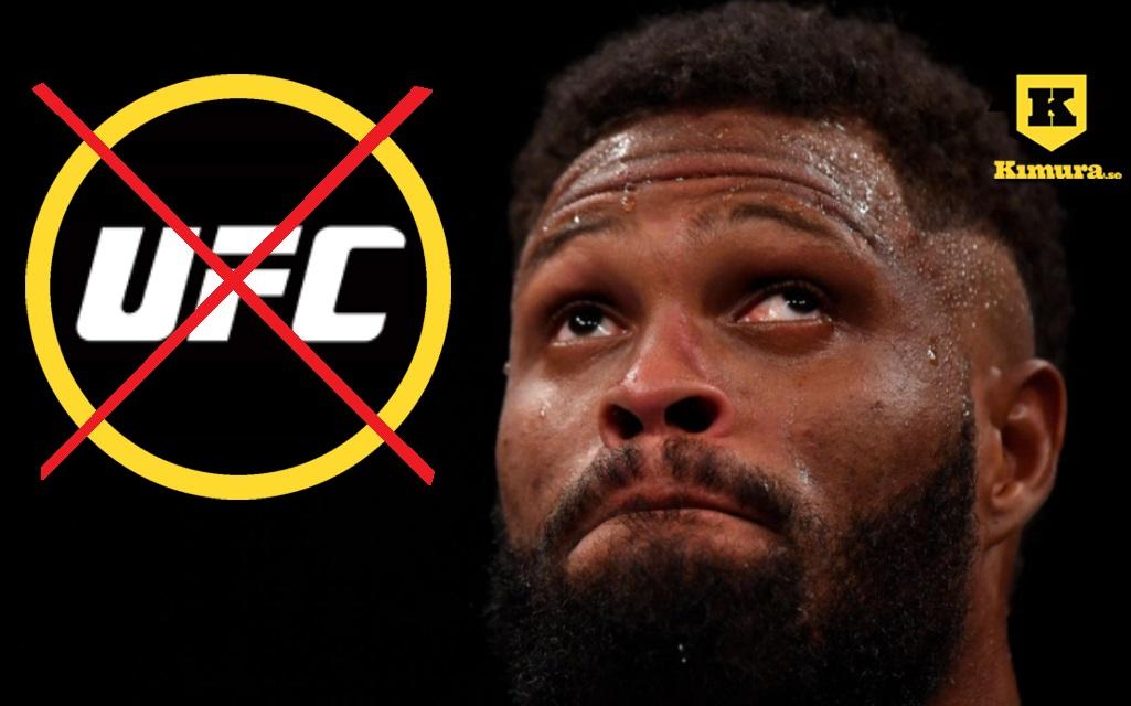 Maurice Greene med överkryssat UFC-logga i cirkel