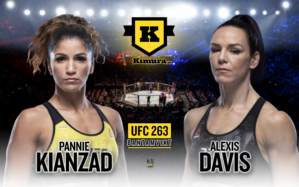 Pannie Kianzad vs. Alexis Davis till UFC 263
