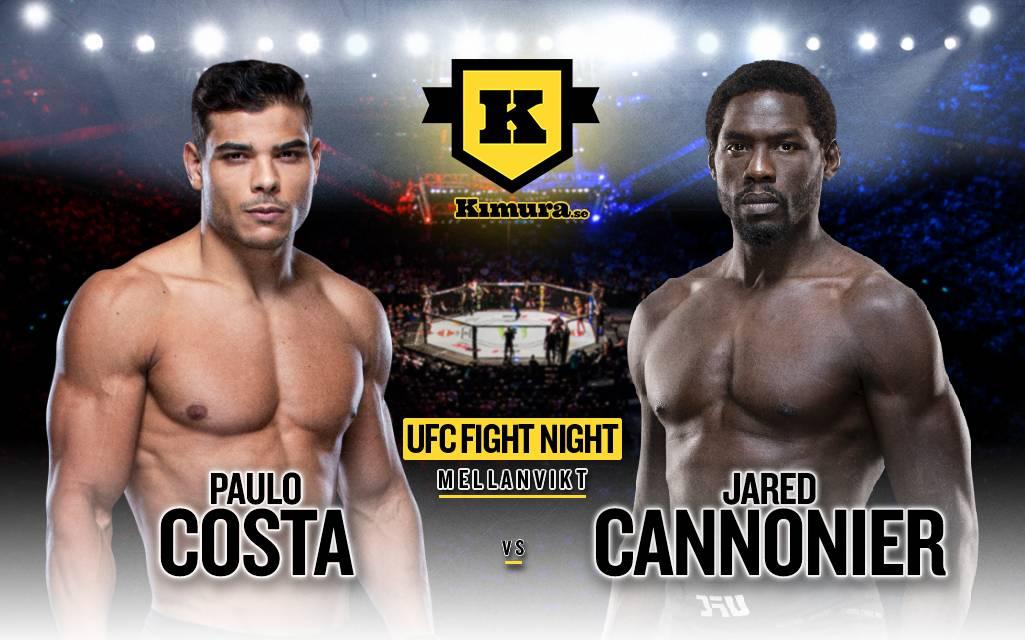Poster Paulo Costa vs. Jared Cannonier
