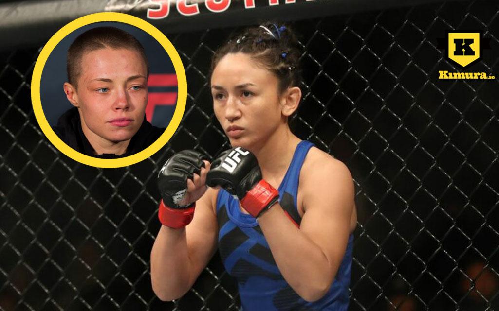 Rose Namajunas vs Carla Esparza