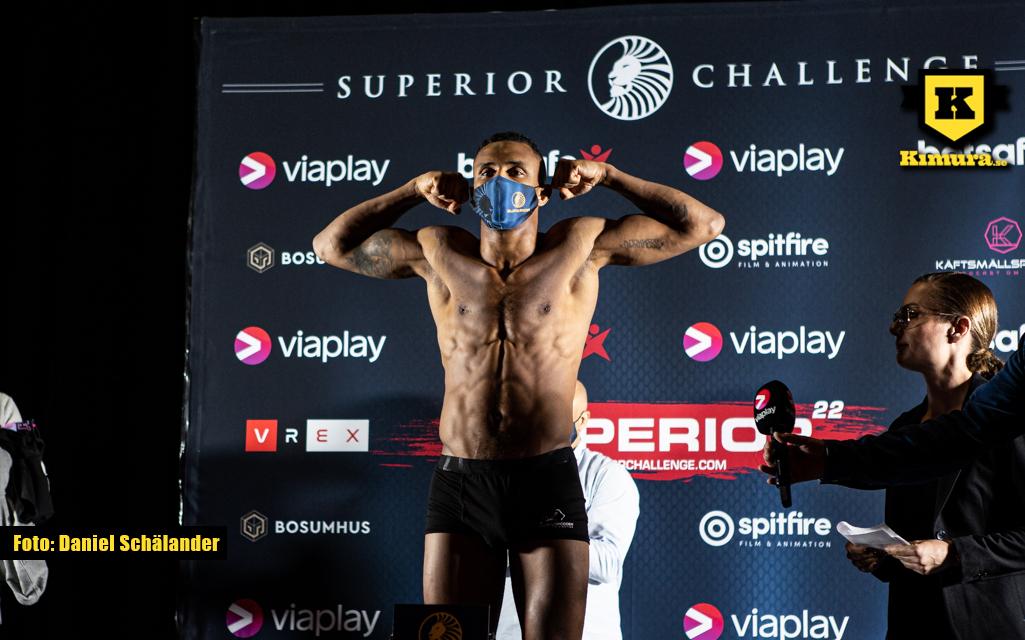 Christopher Bajo väger in på Superior Challenge 22