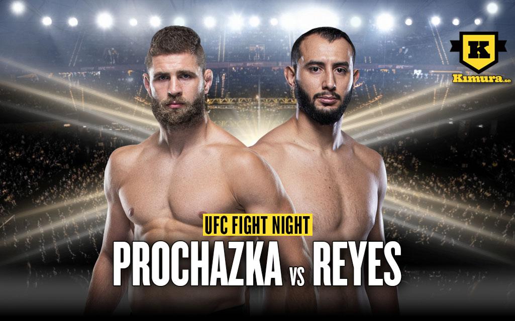 UFC Vegas 25 Jiri Prochazka vs Dominick Reyes