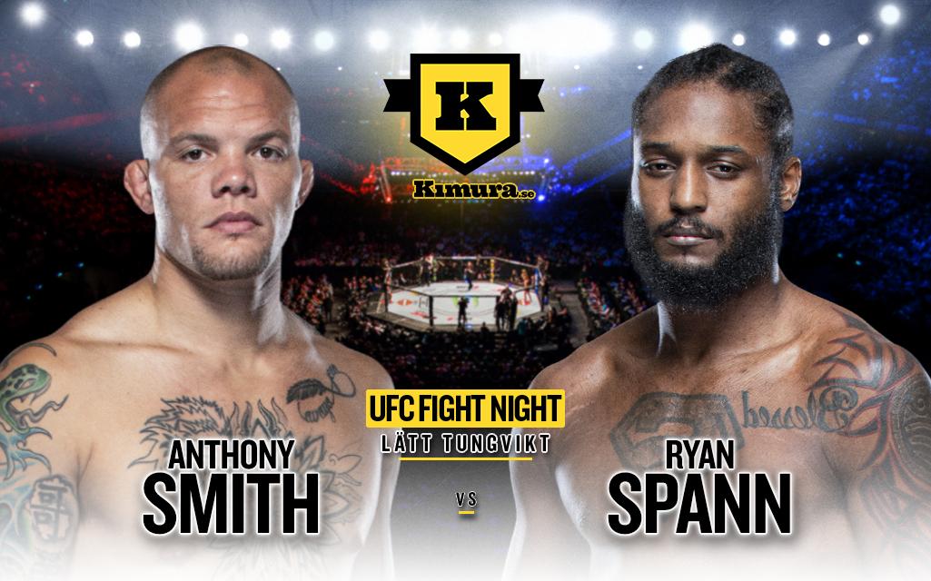 Anthony Smith vs. Ryan Spann till den 18 september