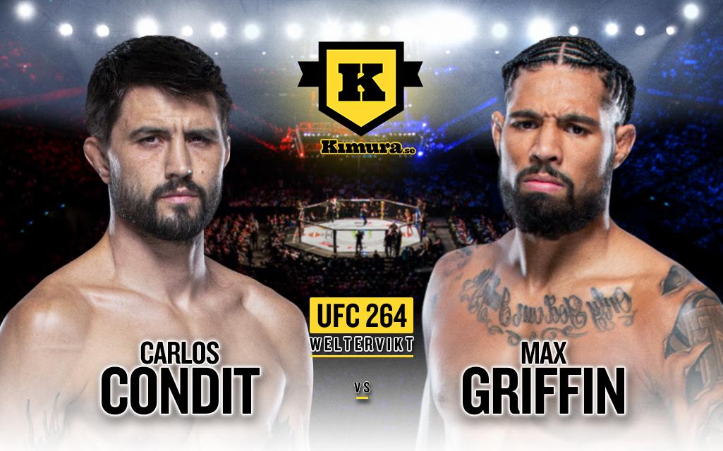 Carlos Condit vs. Max Griffin till UFC 264