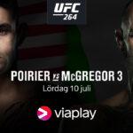 Viaplay Affisch på Dustin Poirier vs. McGregor 3
