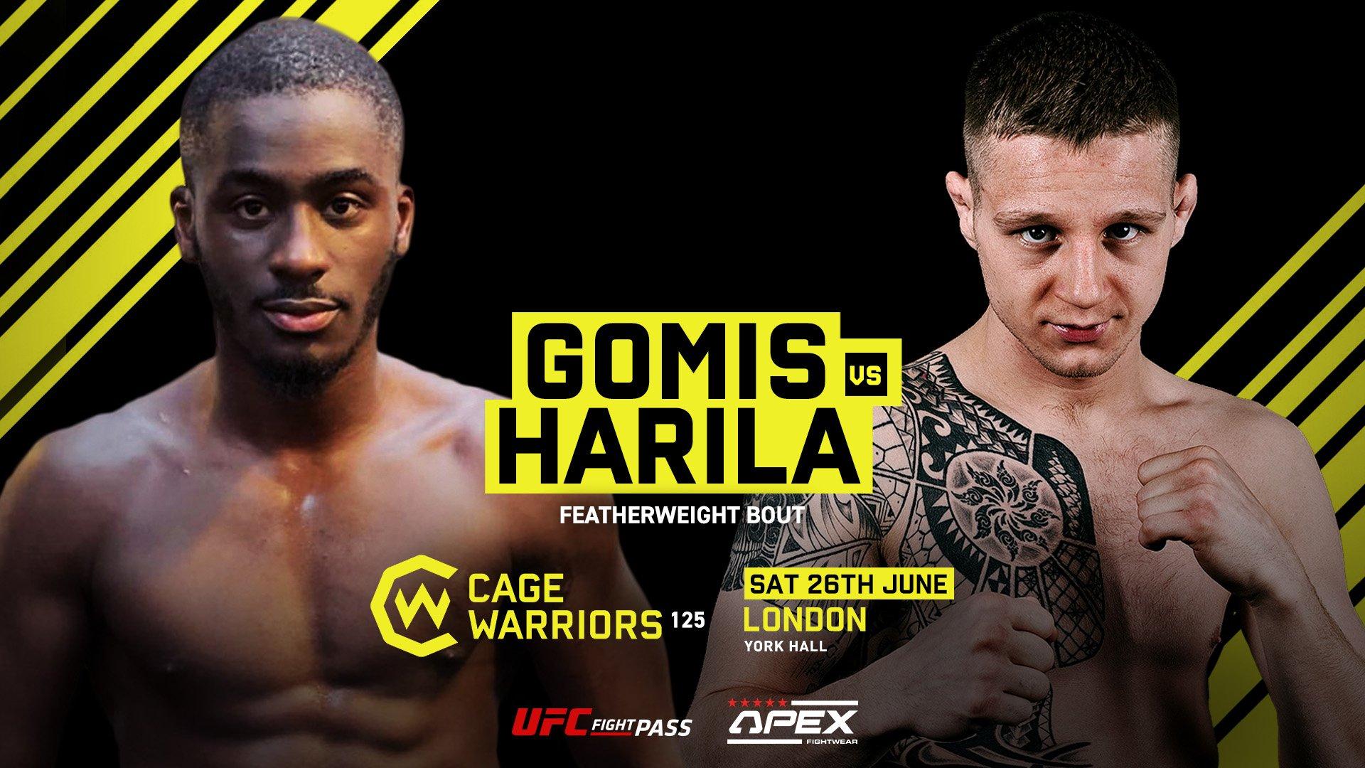 Tobias Harila vs. William Gomis CW 125