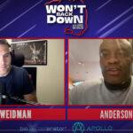 Chris Weidman och Anderson Silva i podcast