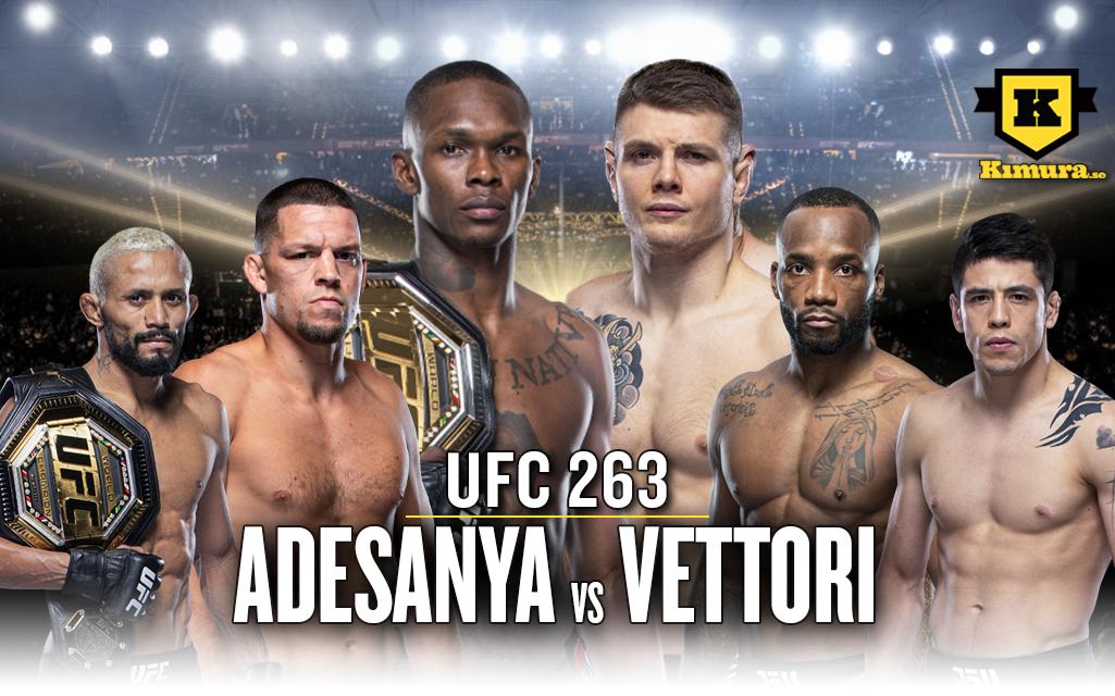 Poster UFC 263 Adesanya vs. Vettori